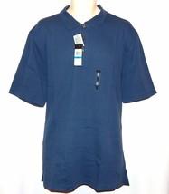 Van Heusen Classic Fit Ottoman Polo NEW Mens Short Sleeve Big & Tall Blu... - $30.00