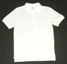 George NEW Lot of 6 White School Uniform Short Sleeve Shirts Boys Size 8... - $48.00