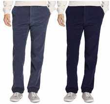IZOD Mens Corduroy Straight-Fit Wrinkle-Free Flat-Front Pants 34x32 NEW ... - $42.00