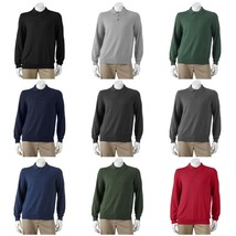 Croft & Barrow Mens Big & Tall Solid Lightweight Polo Sweater XLT 3XLT N... - $25.00