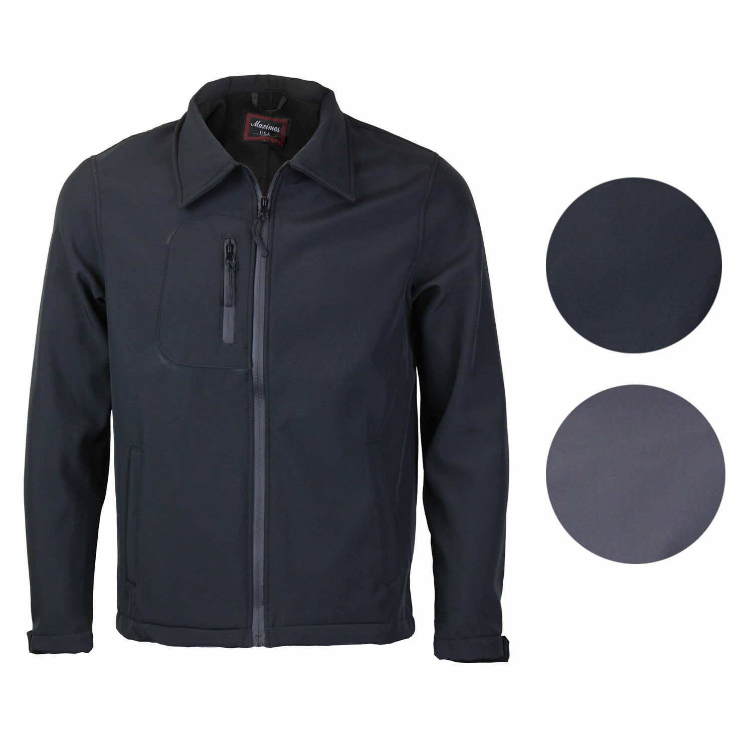 Men's Lightweight Athletic Water Resistant Windbreaker Slim Fit Jacket JERRY