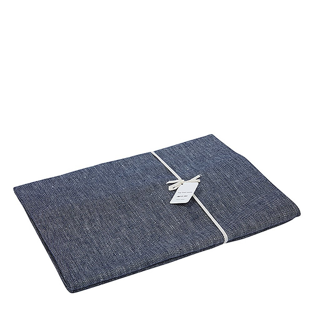 Fog Linen Work Linen Table Mat (S) LTT005S-LID Linen Denim, Small