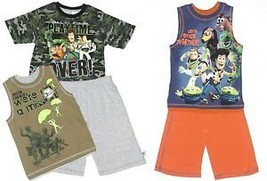 Disney Toy Story Boy's Size 6/7 Shorts & Top 2 or 3 Piece Outfit New image 1