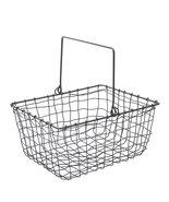 Fog Linen Work Wire Storage Basket ISW004, One Size - $35.64