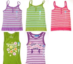 The Children's Place New Purple Pink Green Striped Tank Top Girls Size XS S - $6.00