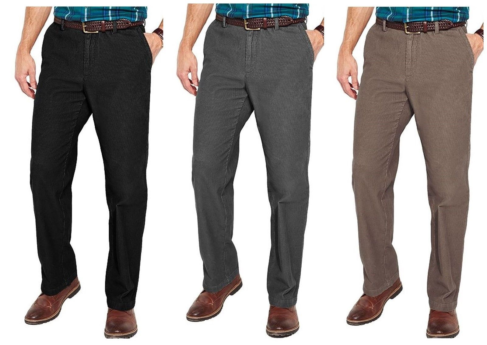 official great variety models select for newest Croft & Barrow Mens Corduroy Pants Flat and 50 similar items