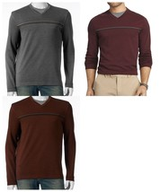 Van Heusen Mens Big & Tall XLT Mock-Layer V-Neck Tee Top NEW $60 - $34.00
