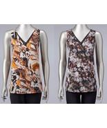 Simply Vera Wang Soft Lightweight Chiffon Print Tank Top Womens S-XL NEW... - $24.00