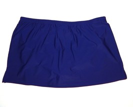 Croft & Barrow NEW Dark Blue Swimwear Skirted Panty Bottom Womans 24W 26... - $23.00