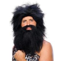 Halloween Party Mask Savage Wig Headband Wig Beard Cosplay Adult Masquerade - $19.00