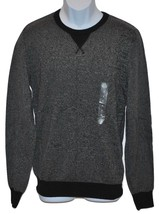 American Rag Men's Crew Neck Sweater 2-Tone Black - $13.82