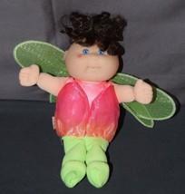 """1995 Mattel Cabbage Patch Kids Garden Fairy 9"""" CPK Brown Hair Blue Eyes - $12.59"""