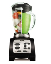 6 Cup Black Blender Fusion 7 Speed Ice Frozen Fruit Crusher Beverage Sau... - $72.50