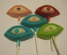 Eye See You - One dozen spooky silly eye lollipop suckers party favors - $18.00