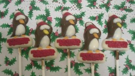 Christmas Penguin Lollipops - $18.00