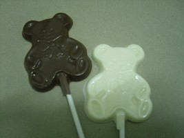 Teddy Bear Lollipops - $18.00