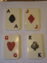 Set of 4 chocolate playing cards - $9.50