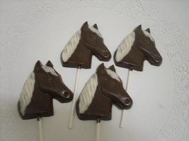 A dozen horse head lollipops - $19.25
