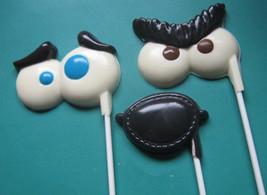 One dozen eyeballs and eye patch suckers lollipops party favors - $18.00