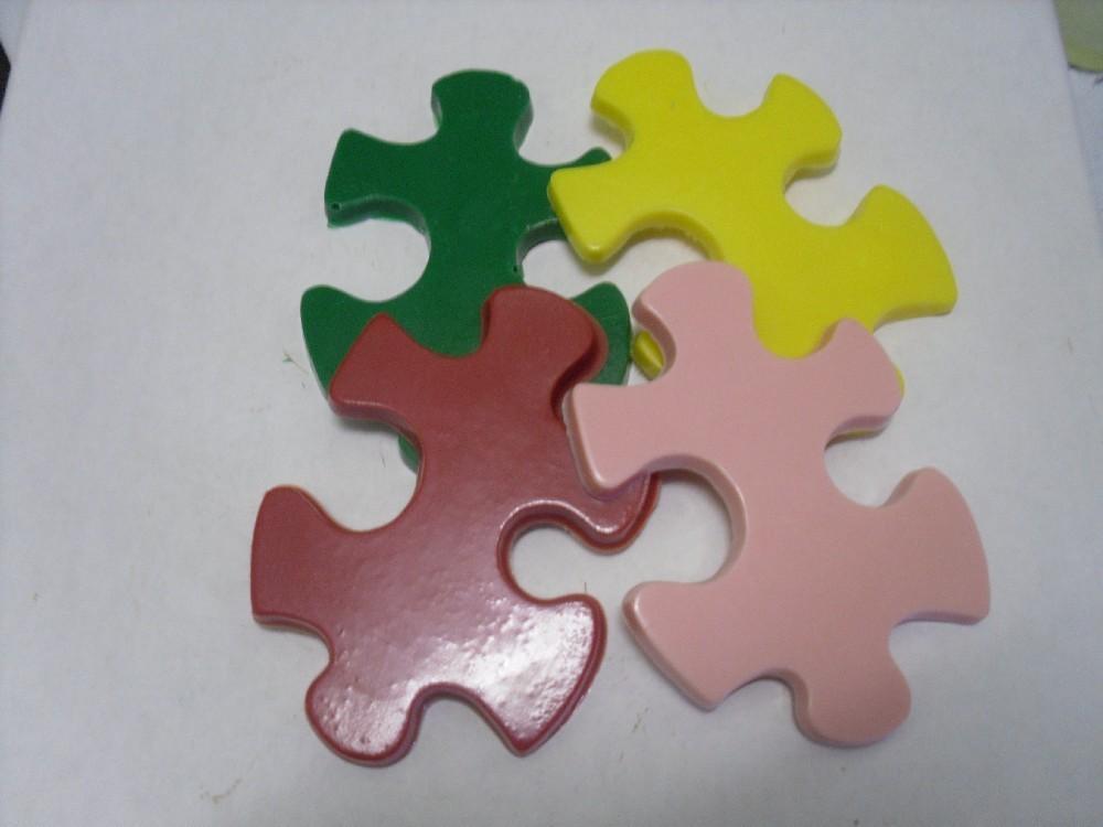 1 dozen Chocolate Puzzle Pieces