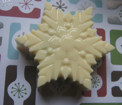 Snowflake large chocolate covered sandwich cookie oreo party favors image 2
