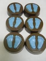 Chocolate Covered Regular Oreos Baby Boy or Girl Feet - $18.00