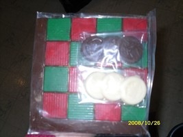 Checker Board with Checkers - $9.50