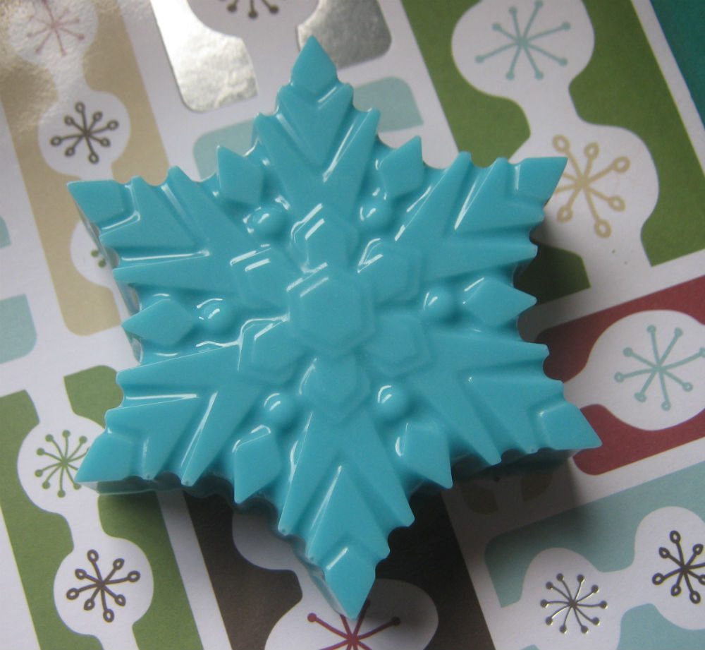 Snowflake large chocolate covered sandwich cookie oreo party favors image 4