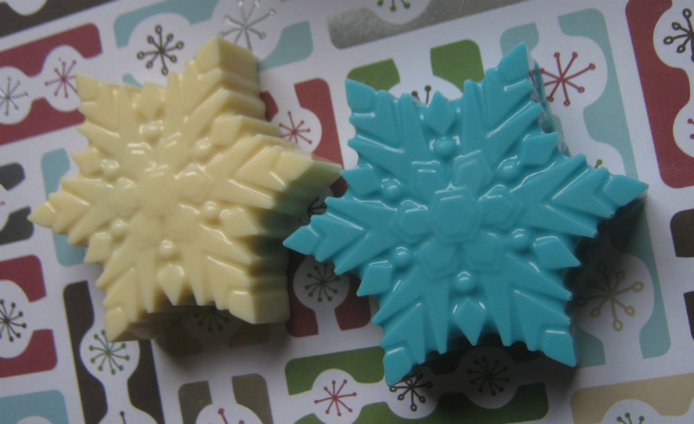 Snowflake large chocolate covered sandwich cookie oreo party favors image 5