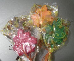 A dozen Leaf Lollipops - $18.00