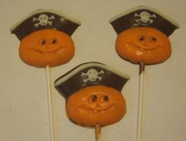 Pirate Pumpkin Lollipop Suckers Party Favors 12 count - $19.25