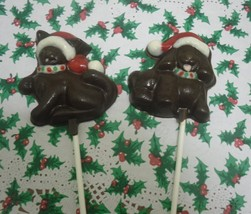 Christmas Kitty or Doggie Lollipops 6 piece - $11.75