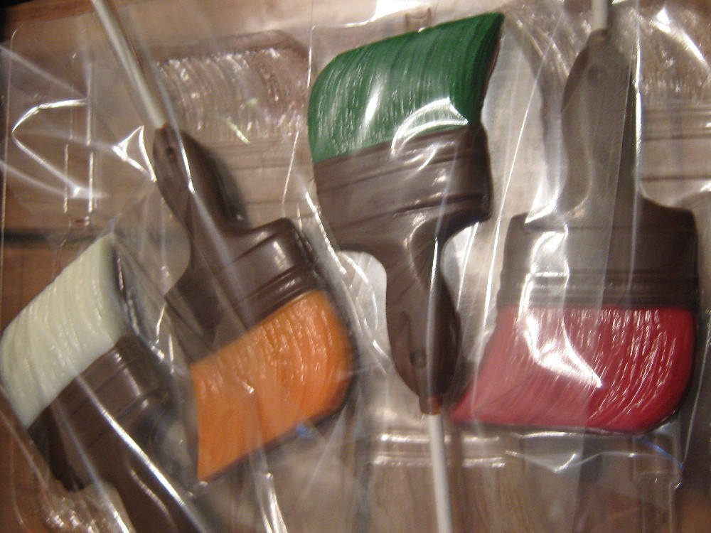 Primary image for One dozen paintbrush lollipops