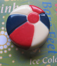 One dozen beach ball chocolate covered sandwich cookie party favors image 2