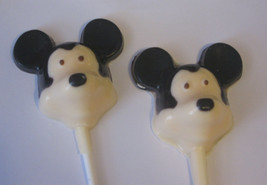 One dozen black and white mouse lollipop suckers party favors - $18.00