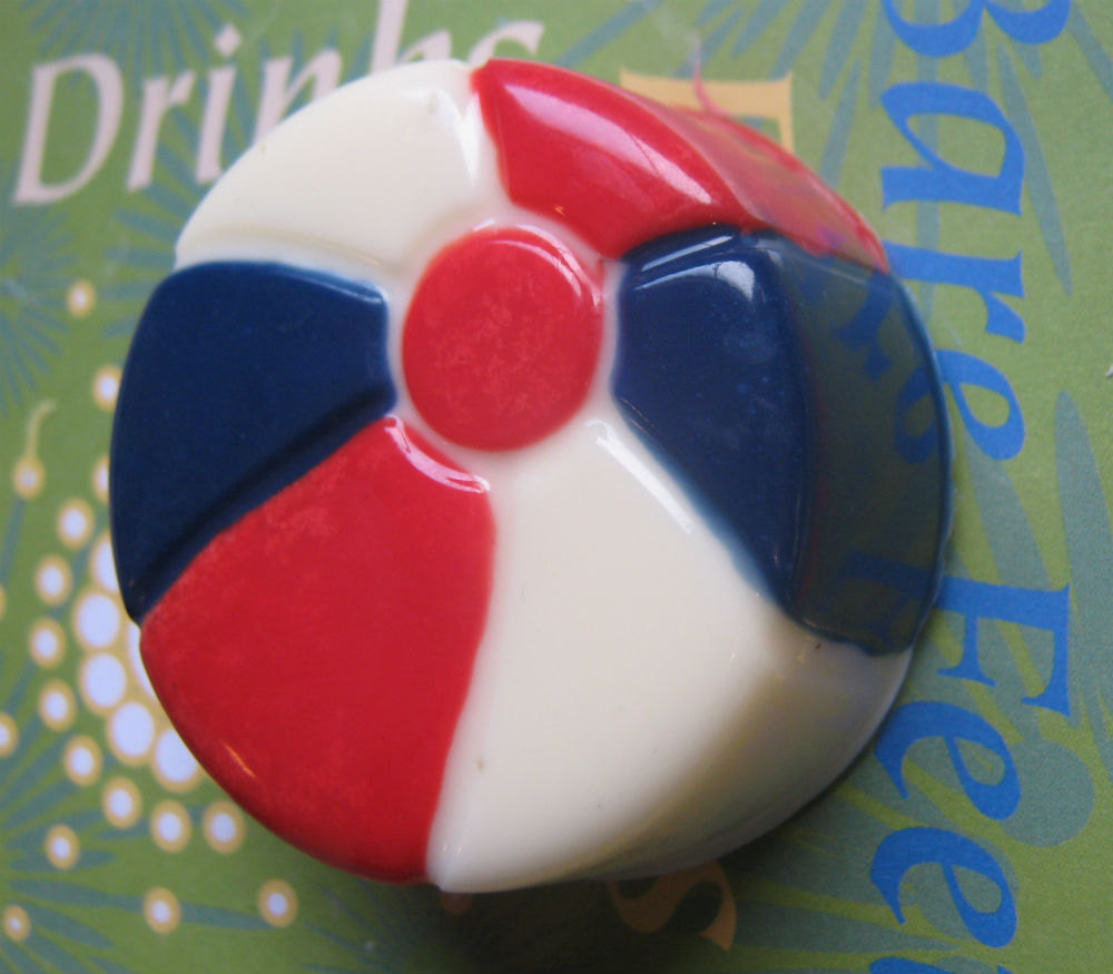 One dozen beach ball chocolate covered sandwich cookie party favors image 5