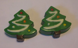 One dozen chocolate covered sandwich cookie Christmas trees image 5