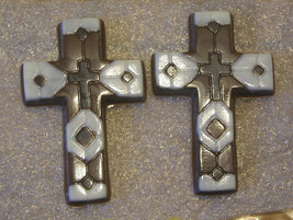 One dozen chocolate mosaic crosses - $18.00