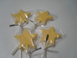 A Dozen Star lollipops - $15.00