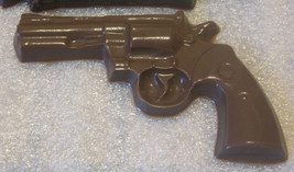 Small chocolate revolver gun party favor - $7.00