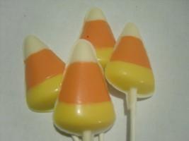A dozen Candy Corn Lollipops - $18.00