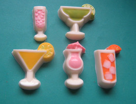 10 piece mini beverage chocolate pieces party favors - $13.00