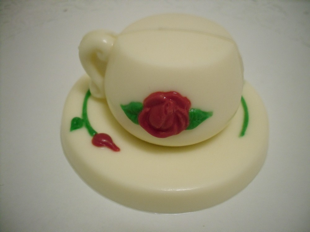 Primary image for 3D Chocolate Teacup and Saucer