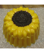 Solid chocolate sunflower fillable box - $11.75