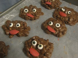 Monster Mounds - peanut and raisin clusters - $21.00