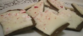 One pound chocolate peppermint/candy cane bark image 2