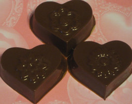 One dozen hearts and flowers caramel or peanut butter cup party favors image 4