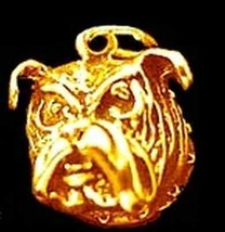 0523 Gold Plated bulldog Pug charm Pendant Jewelry - $9.14