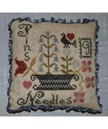 Pins & Needles cross stitch chart Abby Rose Designs - $9.00