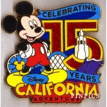 Cast Exclusive Celebrating 15 years Disney California Adventure Mickey M... - $11.75